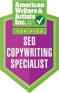 AWAI Badge SEO Copywriting Specialist