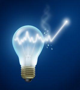 Ampoule énergie croissance